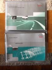 1998 Audi A4 Owners Manual With Case OEM Free Shipping