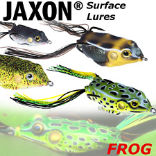 Surface Frog Lures Top Water Jaxon Magic Fish Pike Lure Fishing Weedles Hooks