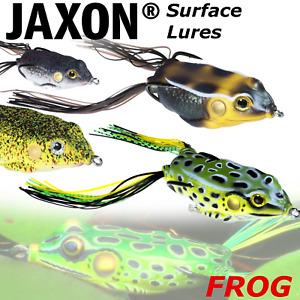 Surface Frog Lures Top Water Jaxon Magic Fish Pike Lure Fishing Weedles Hooks