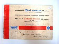GARELLI BIMATIC 50cc EXPORT DELUXE - Moped Spares List - Jun 1964 - #1000-6/64