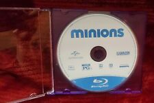 MOVIE MINIONS ON BLUE RAY DISC