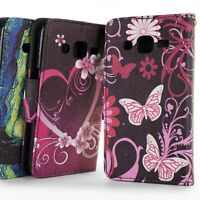 For Samsung Galaxy J2 2015 SM-J200 Wallet Case Folio Card Holder Phone Cover