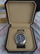 Breitling Stainless Steel Band Polished Wristwatches