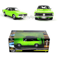 Maisto 1:18 1969 DODGE RT Muscle Diecast Model Toy 1/18 Charger In Box Collect