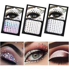 Face Gems Stick on Eyes 3D Jewelry Body Glitter Crystals Rhinestones Beauty