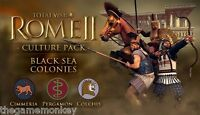 TOTAL WAR ROME II BLACK SEAS COLONIES DLC