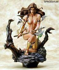 Boris Vallejo: Monicas Axe   PVC Figur   Yamato