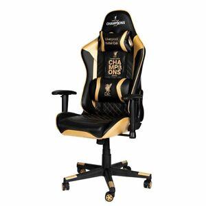 Liverpool FC Sidekick PL Winners Edition Gaming Chair, Kids Room