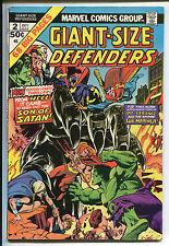Giant-Size Defenders #2 - Starring Dr.Strange & Sub-Mariner! - 1974 (Grade 7.0)