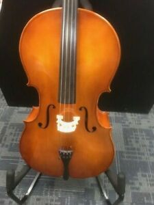 Strobel 4/4 MC80 Cello with Bag and Bow USED