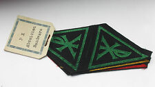 The Bund Neudeutschland    german catholic  band cloth patches  on  card mount