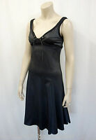 JUST CAVALLI Stretch Träger Kleid D.Gr.34-36 I.42 Bustier Dress Schwarz