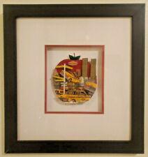 "John Suchy 3D Pop Art ""Big Apple Rush"" NYC Limited Edition Mixed Media 107/450"