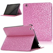 LEATHER FLIP CASE FOLD STAND CASE WITH SMART COVER FOR APPLE IPAD 2/3/4 PINK