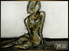 """Modern ART - Original WOMAN Painting by S.Lazo – MADE TO ORDER - 36"""" x 48"""""""