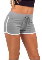 Women's Girls Summer Shorts Cotton Pants Casual Yoga Gym Sport Mini Trousers Hot