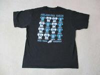 Reebok Philadelphia Eagles Shirt Adult Large Black Green NFL Football Mens