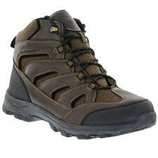 EDDIE BAUER Mens Fairmont Winter Boots Hiking Waterproof Leather Brown Size 11