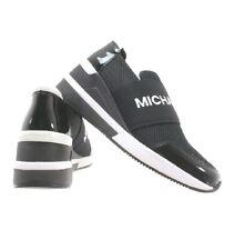 Michael kors felix trainer  wedge sneakers black size 8 NWB