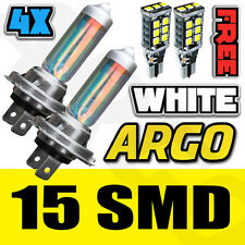 H7 499 RALLY OFF ROAD XENON WHITE HEADLIGHT HEAD LIGHT BULBS LED 501 SIDELIGHT
