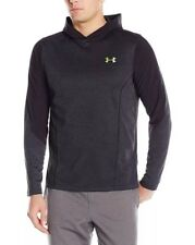 $70 Men's Small Under Armour Infrared ColdGear Black & Gray Ls Top 1285626 Nwt