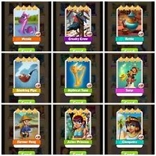 Coin Master High Rare Card Pack! *Fast Delivery* (x1 of each card shown)