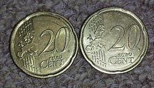 20 Cent Fehlprägung - Belgien - Europakarte