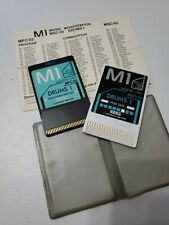 Korg M1 PCM PROGRAM CARD DRUMS MSC-03/MPC-03