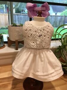 Made To Fit Pleasant Company American Girl: Samantha's Friend's Lacy Whites