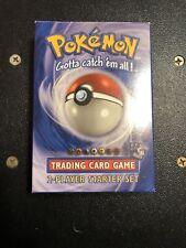Two Player Starter Deck Pokemon Sealed Base Set