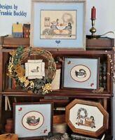 1986 Counted Cross Stitch Pattern Booklet Collection Of Things Country 7110F