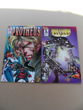 Mike Deodato's Protheus 1 , 2 . Lot Complet . Caliber . 1996 . VF - minus