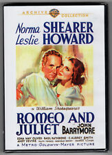 ROMEO and & JULIET (1936) Norma Shearer, Leslie Howard, Warner Archive DVD *NEW*