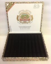 ARTURO FUENTE ROYAL SALUTE WOOD CIGAR BOX  Guitar - Clock - Jewelry Box - Purse