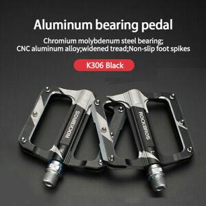 RockBros MTB Pedal 9/16 Lightweight Pedal Carbon Fiber Sealed Bearing Flat Pedal