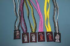 SET #11 SANTA MUERTE 6 items COLORS ESCAPULARIOS scapulary colores RITUALIZADOS