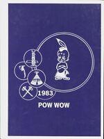 JACK HAYES ELEMENTARY SCHOOL, MONROE, LOUISIANA YEARBOOK - POW WOW - 1983