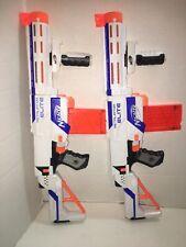 2 White Nerf N-Strike Elite Retaliator Dart Blasters