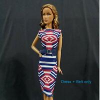 """Handmade~Doll dress for 12"""" Doll~ Barbie, Fashion Royalty, Silkstone"""