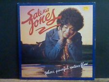 SALENA JONES  Where Peaceful Waters Flow  LP   Soul   Lovely copy !!