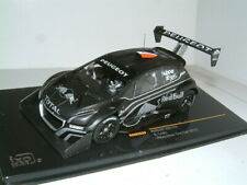 1/43 PEUGEOT 208 T16, 2013 PIKES PEAK TEST CAR `RED BULL` BLACK. `LOEB` IXO
