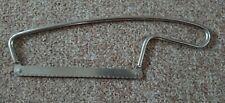"""Vintage SKYLINE Stainless Steel, Chefs, Kitchen Frozen Meat Bone Saw. 6"""" blade"""