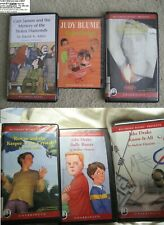 6 Books Cassette Jake Drake Cam Jansen Mrs Hobbs Bully Buster Rowan Superfudge