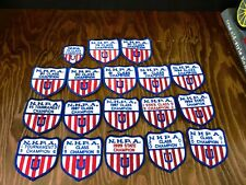 Vintage Collection (67) Nhpa & Nyshpa Horseshoe Pitching Patches, Pins & Medals