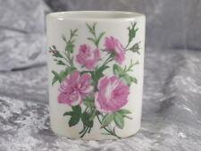 Porcelaine d' Auteuil Porzellan Paris Becher oval Wildrose Vase