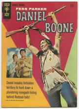 DANIEL BOONE no. 6 Gold Key Aug. 1966 Fine TV Western Fess Parker Ed Ames Cover