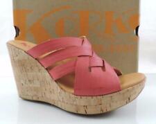 127d27ff8fb Korks by Kork-Ease Katrice Slide Platform Wedge Sandal Comfort Pink Size 10