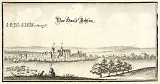 BEESEN (HALLE) - GESAMTANSICHT - Merian - Kupferstich 1653
