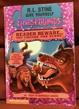 Give Yourself Goosebumps 1996 Night in Werewolf Woods #5 R. L. Stine 1st Edition