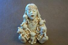 INDIAN STORYTELLER Figurine Jewelry Box kingdom harmony Castagna  New Mint